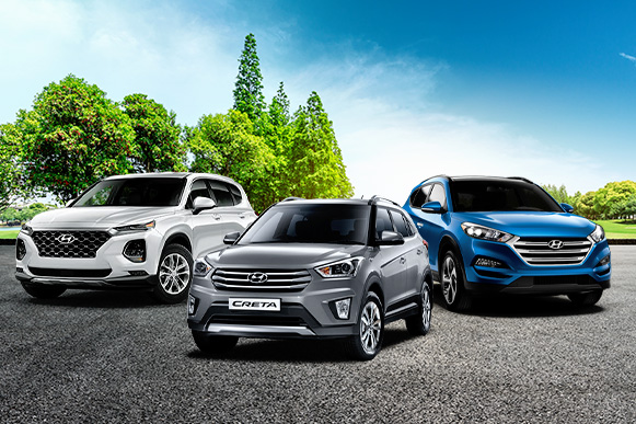 The Three Top Selling Hyundai SUVs For The Past Three Years