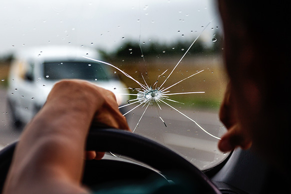 Cracked Windscreens: The Dangers