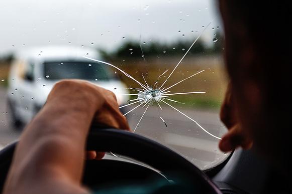 Cracked Windscreens: The Dangers