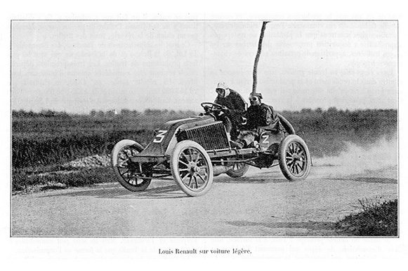 History Of The Renault Car Brand