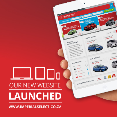 Imperial Selects All New Responsive Website