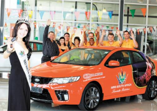 Nelspruit Multifranchise supports Mrs SA 2010