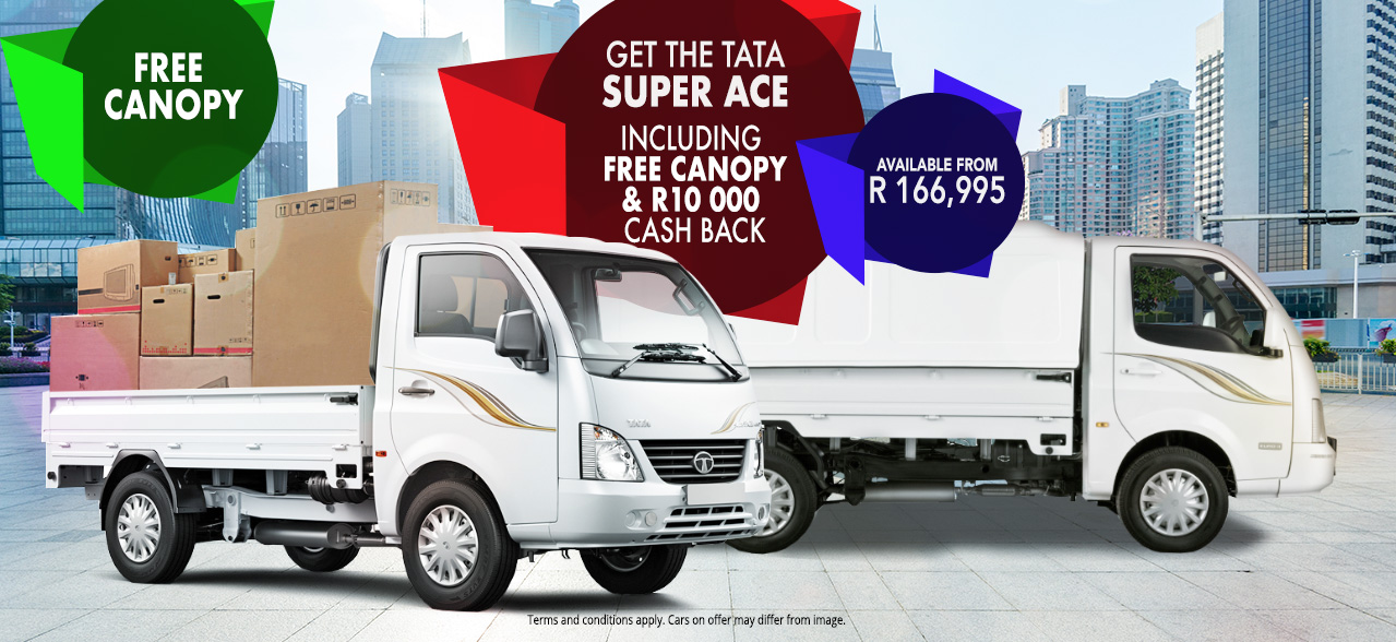 Get the Super Ace from R166,995 with Free Canopy and R10 000 Cash Back