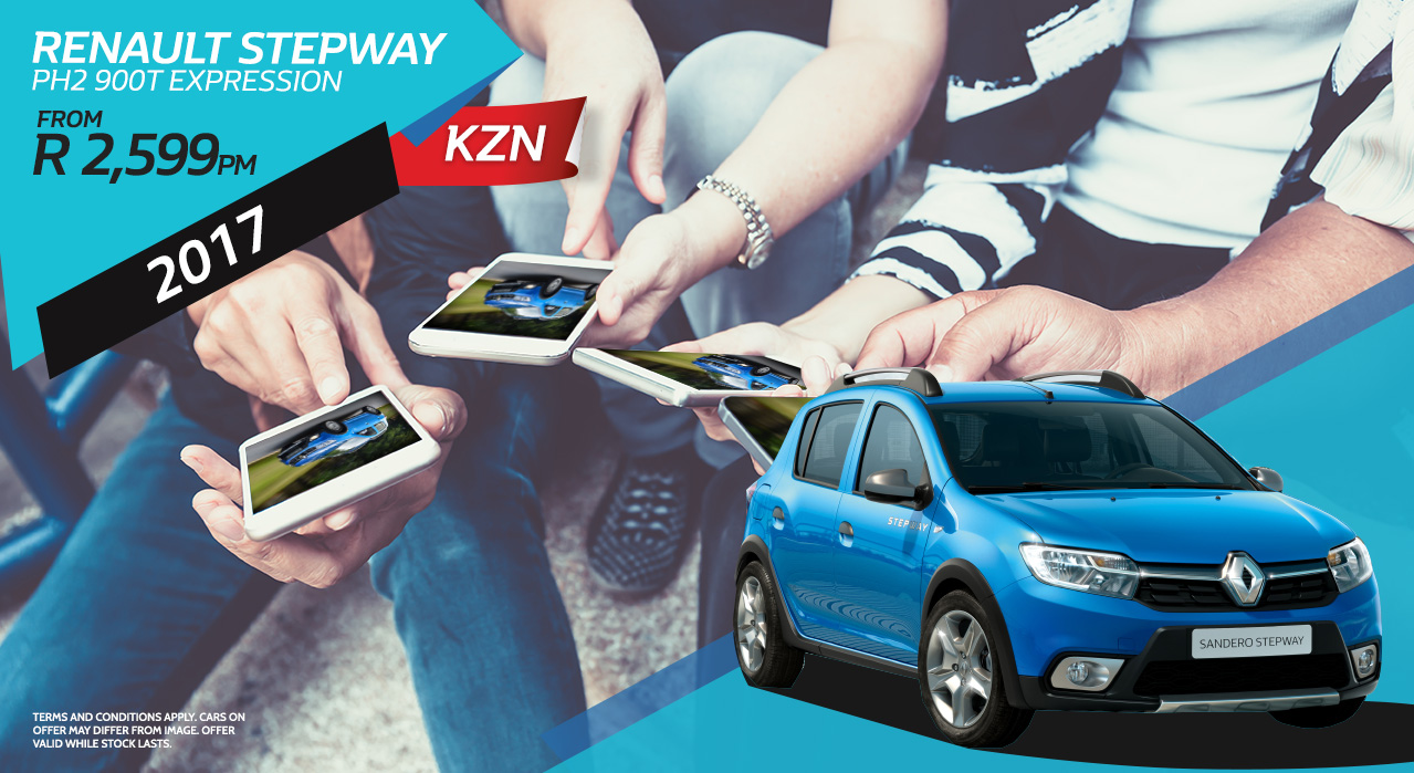 2017 Renault Stepway expression from R2599 p/m