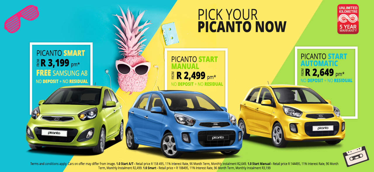 Pick Your Picanto Now!