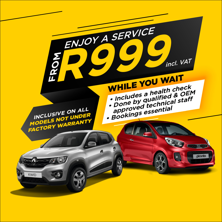 Enjoy a Service from R999 from Imperial Select