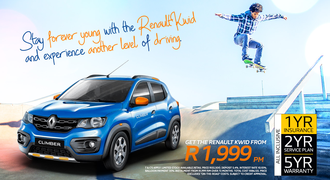 Stay forever young with the Renault KWID