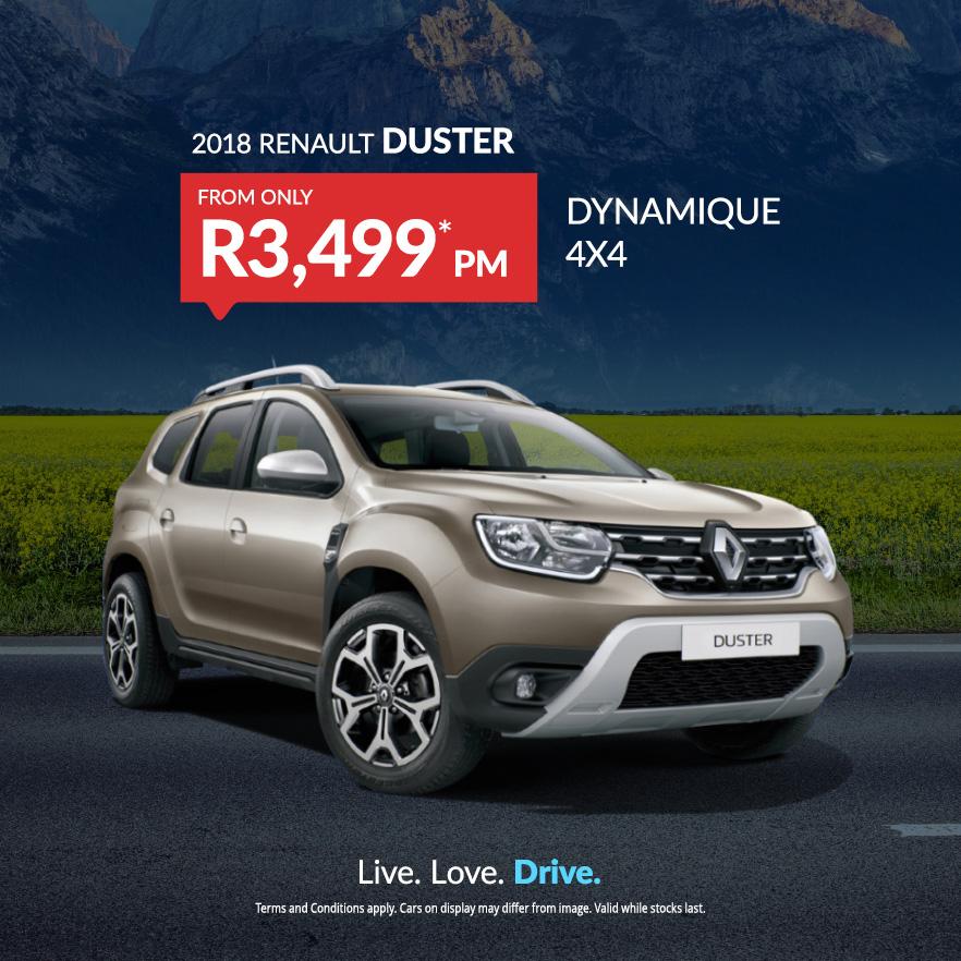 2018 Renault DUSTER DYNAMIQUE 4X4