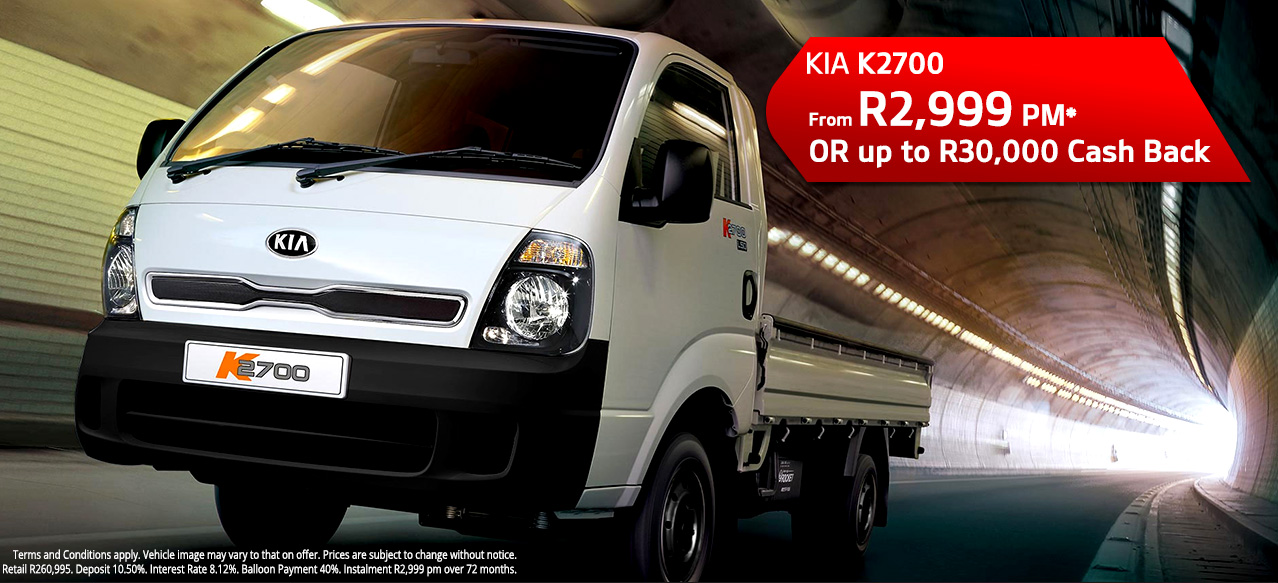 K2700 From R2,999 PM*