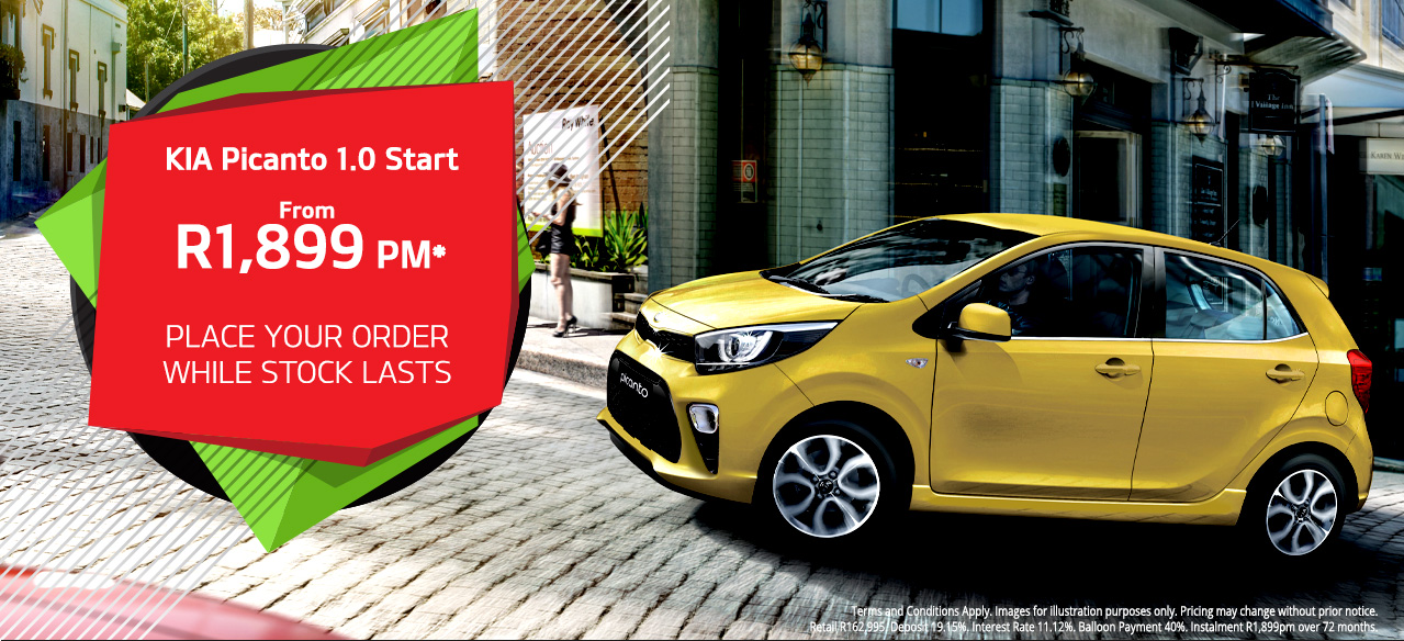 KIA Picanto Start From R1,899PM*