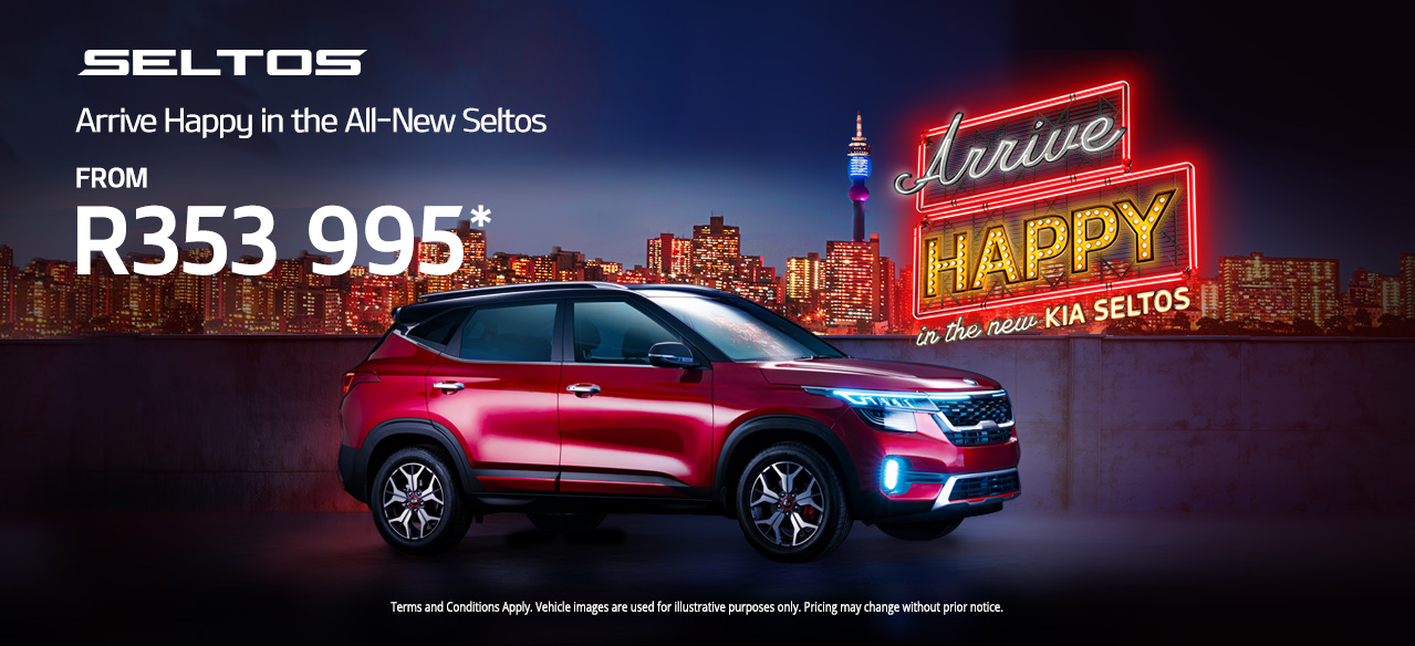 Arrive Happy in the All-New Seltos