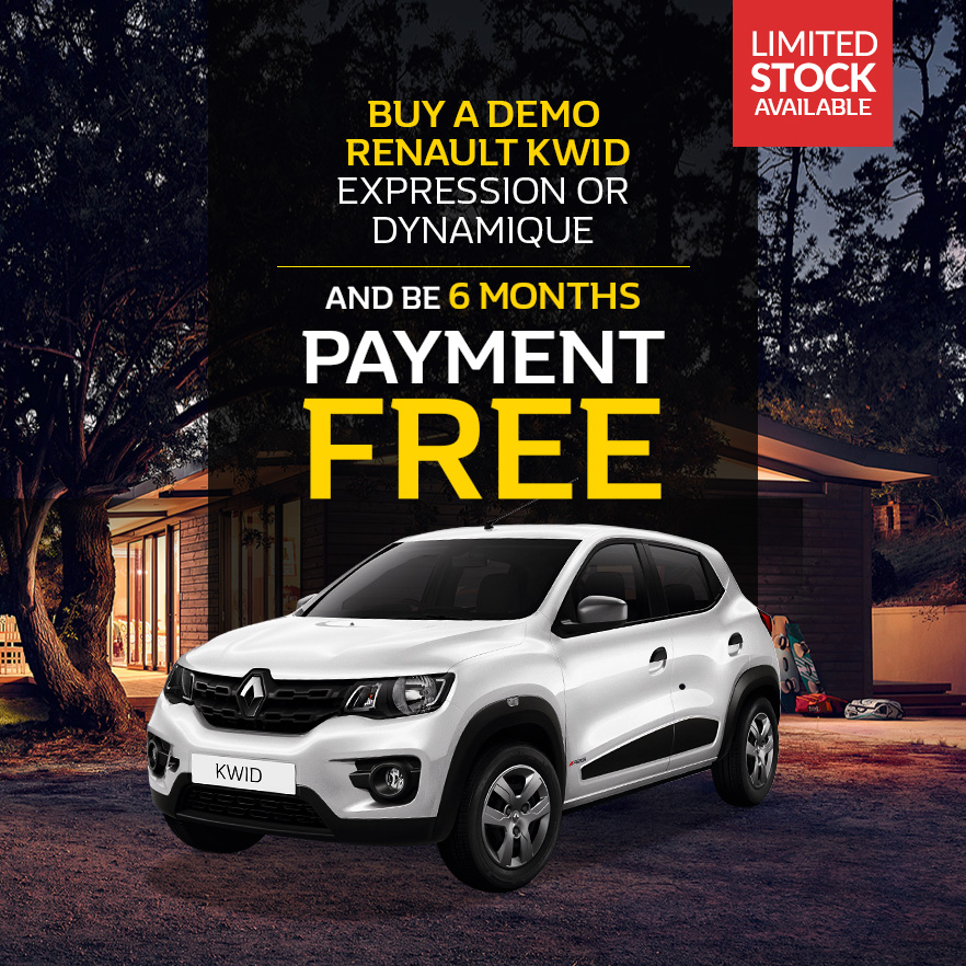 Buy a Demo Renault Kwid