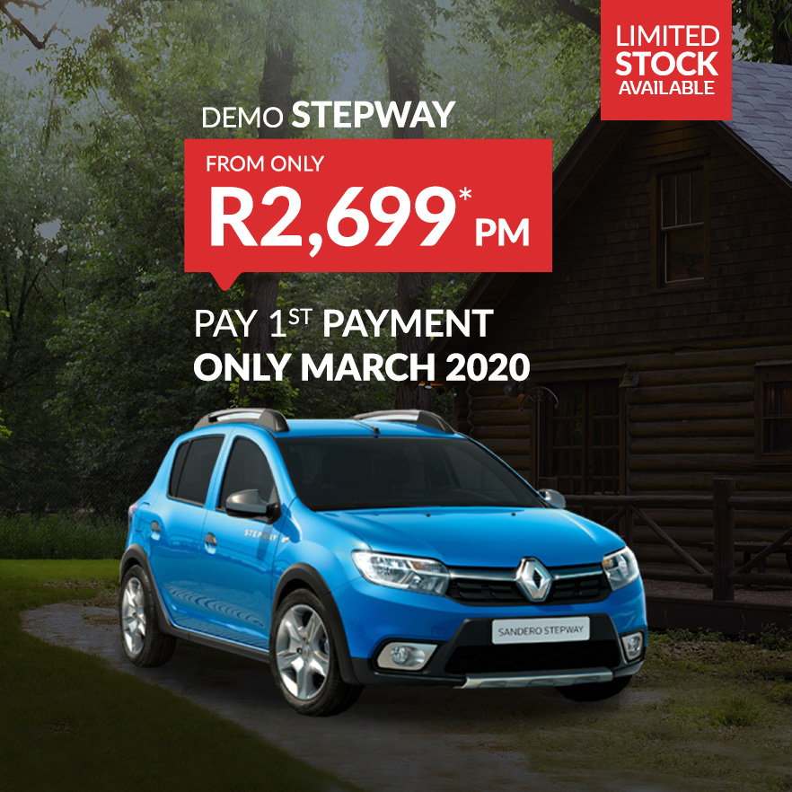 Buy a Demo Renault Stepway