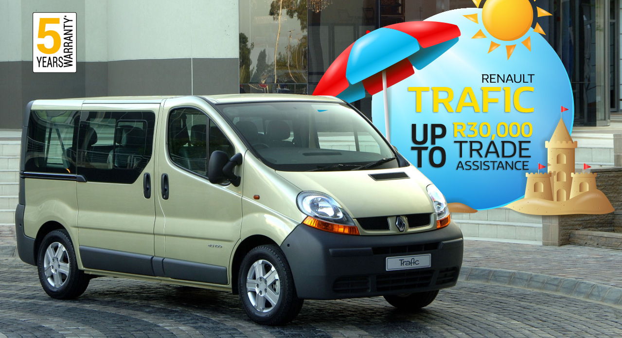 Renault Trafic with up to R30k