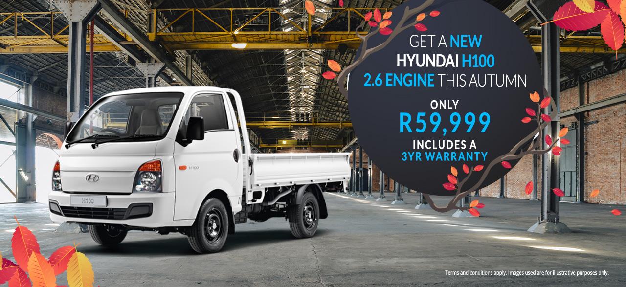 Hyundai H100 2.6 Engine Only R59,999*