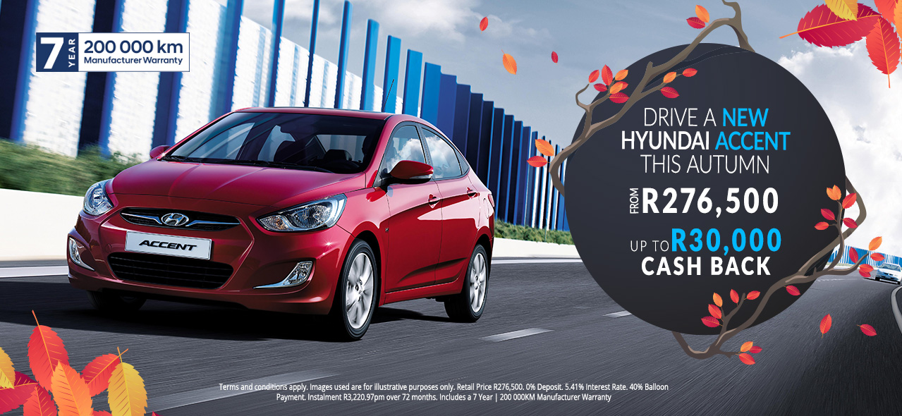Hyundai Accent From R276,500