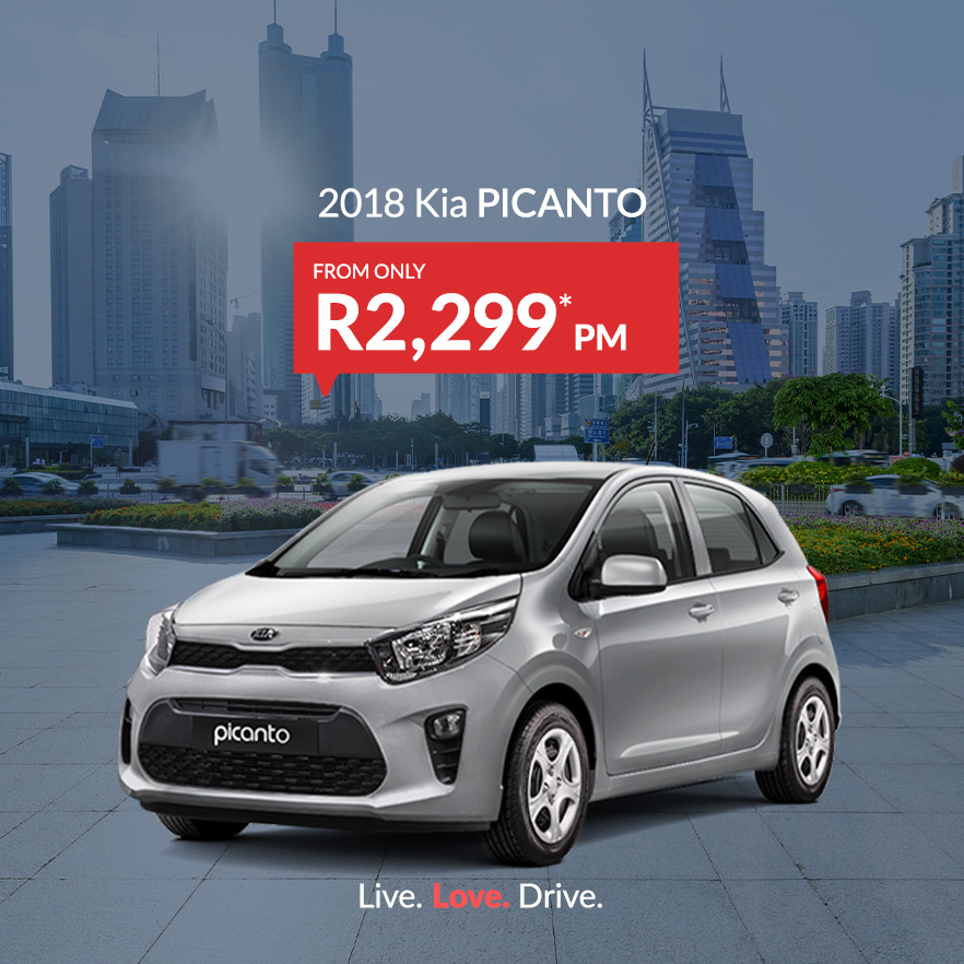 Kia Picanto from only R2,299PM