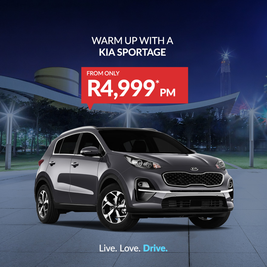 Kia Sportage from only R4,999PM*