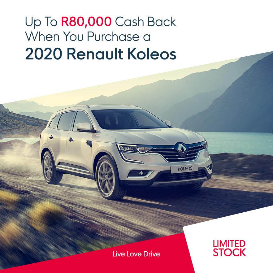 Up To R80,000 Cash Back