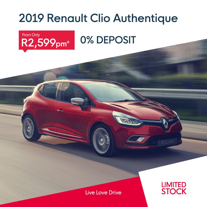 2019 Renault Clio Authentique