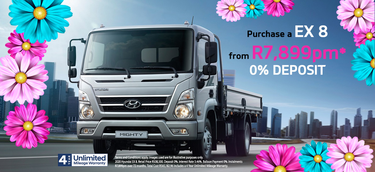 Buy a Hyundai EX8 From Only R7,899PM*
