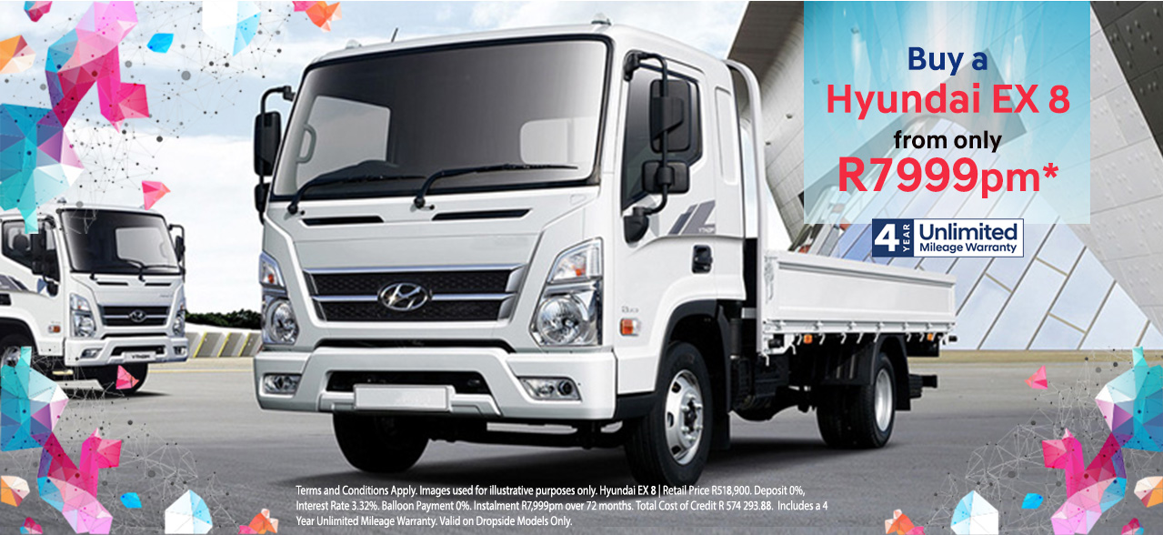 Buy a Hyundai EX8 From Only R7,999PM*