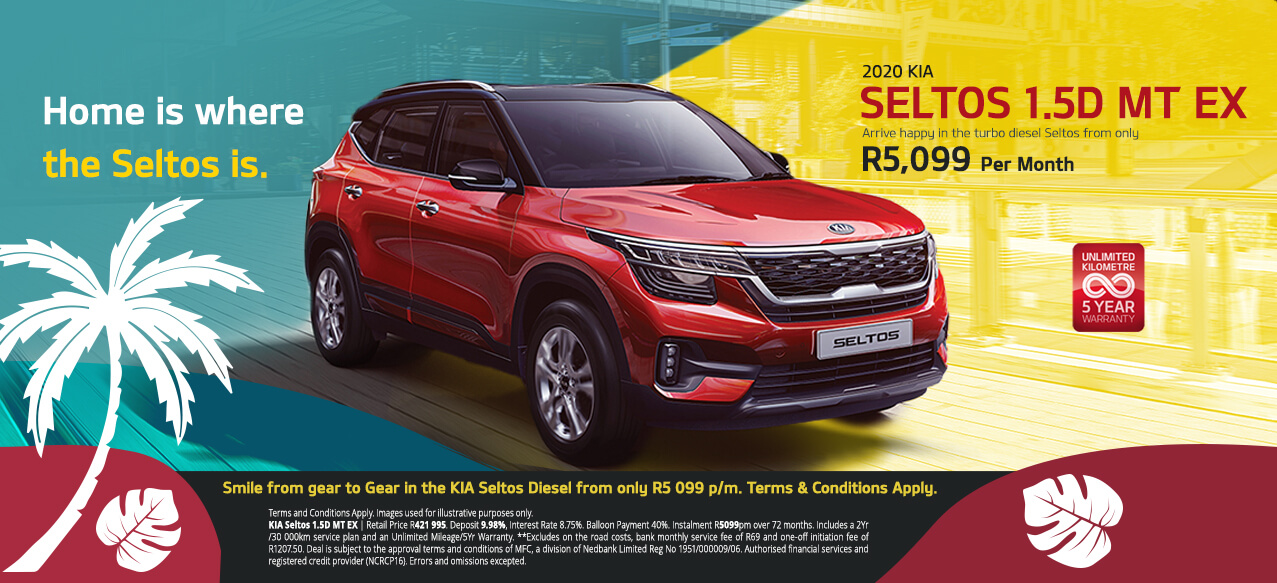 KIA Seltos From Only R5 099 p/m