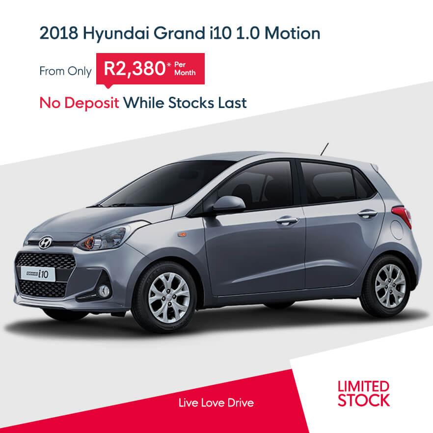 2018 Hyundai Grand i10 1.0 Motion