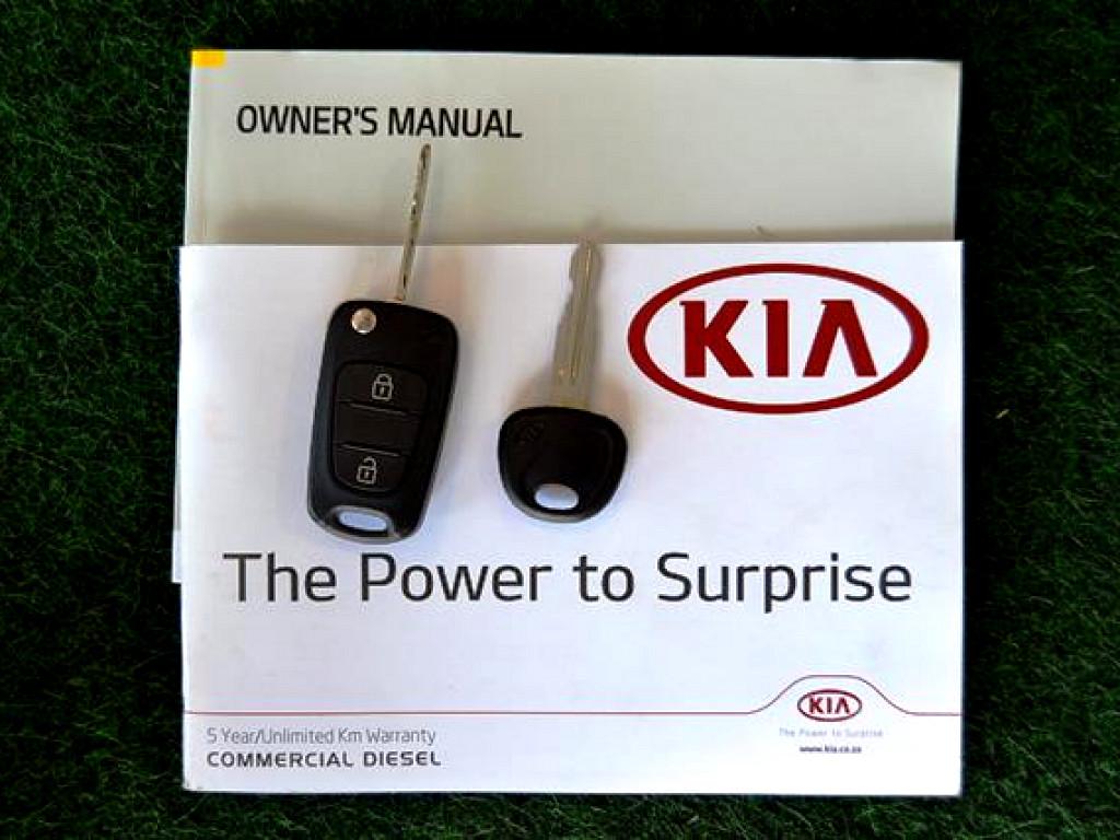 2017 KIA K2700 WORKHORSE CHASSIS CAB