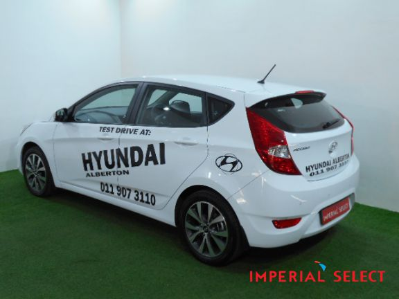 2017 HYUNDAI ACCENT HATCH 1.6 FLUID