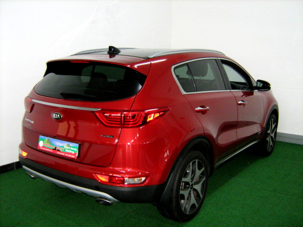2017 kia sportage 1 6 t gdi gt line awd dct at imperial select brackenfell. Black Bedroom Furniture Sets. Home Design Ideas