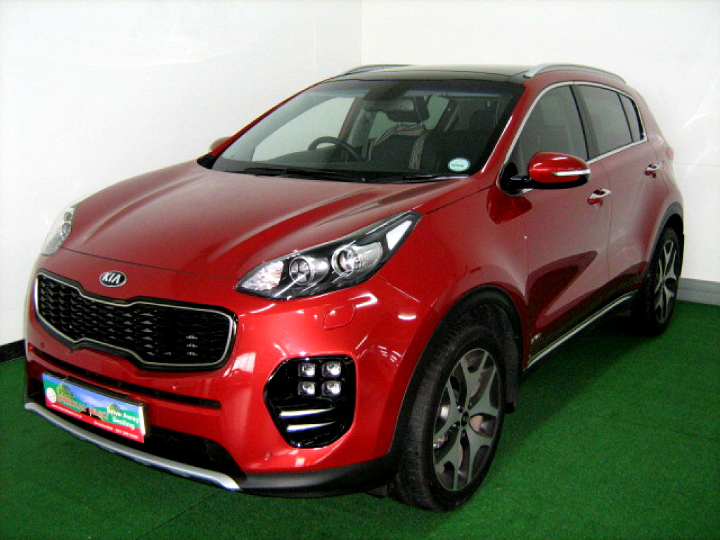 2017 kia sportage 1 6 t gdi gt line awd dct at imperial select brackenfell