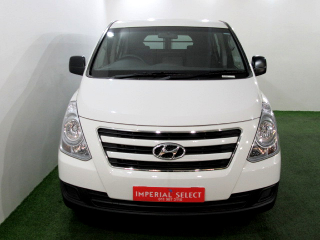2018 H1 2.5 VGT 6 SEATER MULTICAB AUTOMATIC