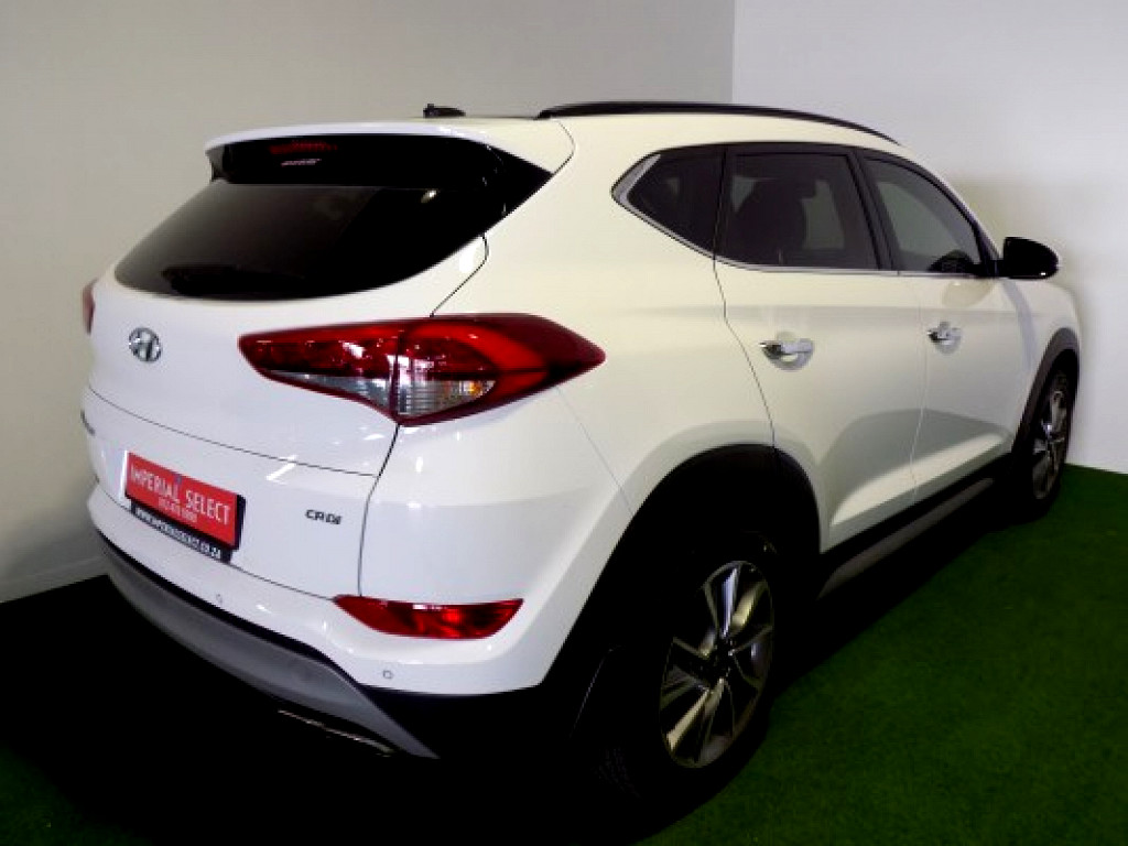 2018 HYUNDAI TUCSON R2.0 ELITE DIESEL 6AT2