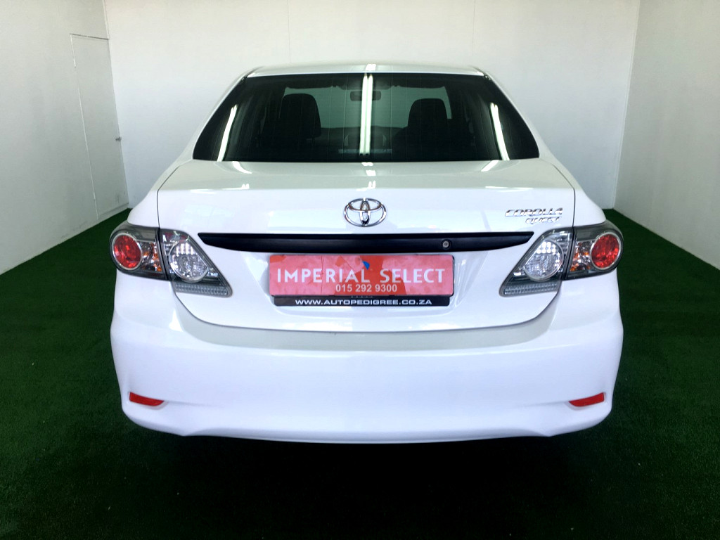 2016 TOYOTA COROLLA QUEST 1.6 AT