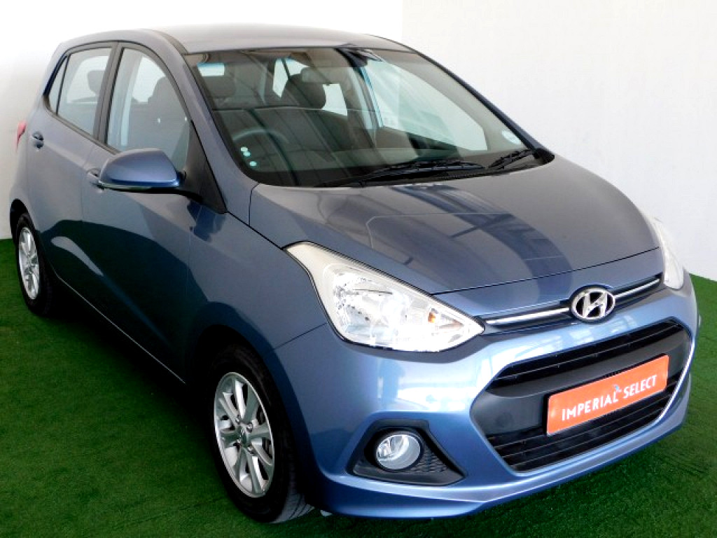 2016 Grand I10 1 25 Motion M T Grey At Imperial Select Nelspruit Mbombela