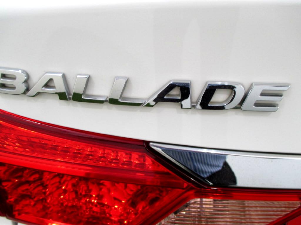 2017 HONDA BALLADE 1.5 i‑VTEC TREND
