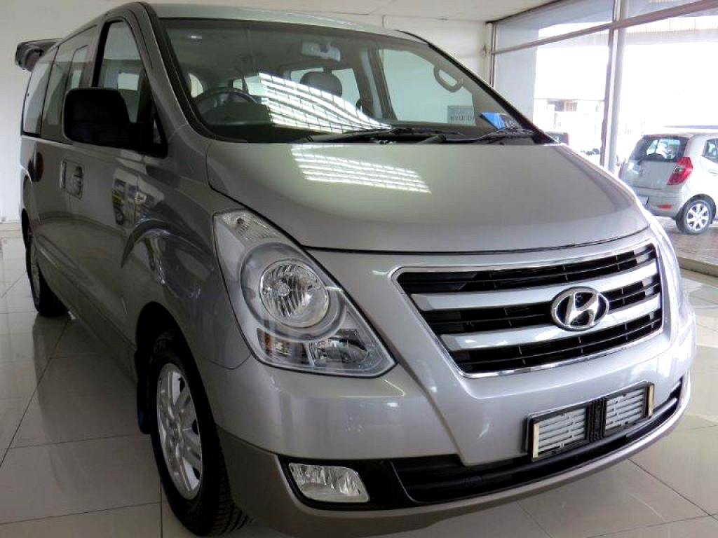 2016 HYUNDAI H1 MY15 2.5 VGTi 9‑SEATER BUS AT