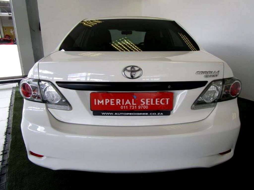 2014 TOYOTA COROLLA QUEST 1.6 AT