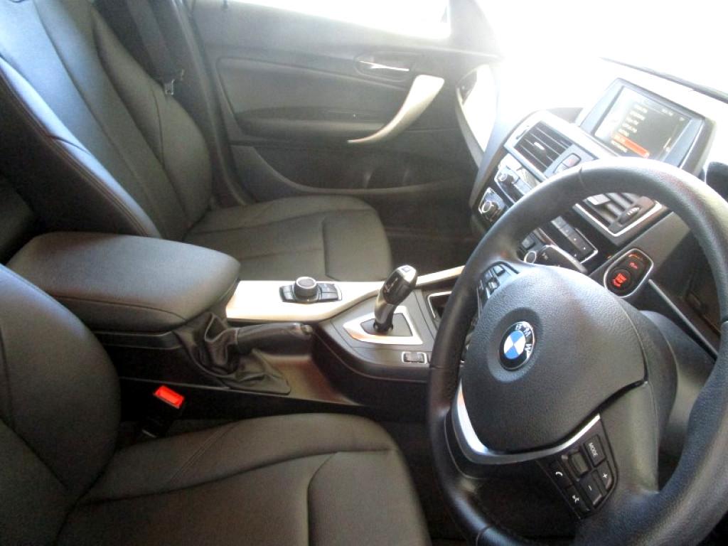 2016 BMW 1 SERIES 5‑DOOR FACELIFT 118i STEPTRONIC
