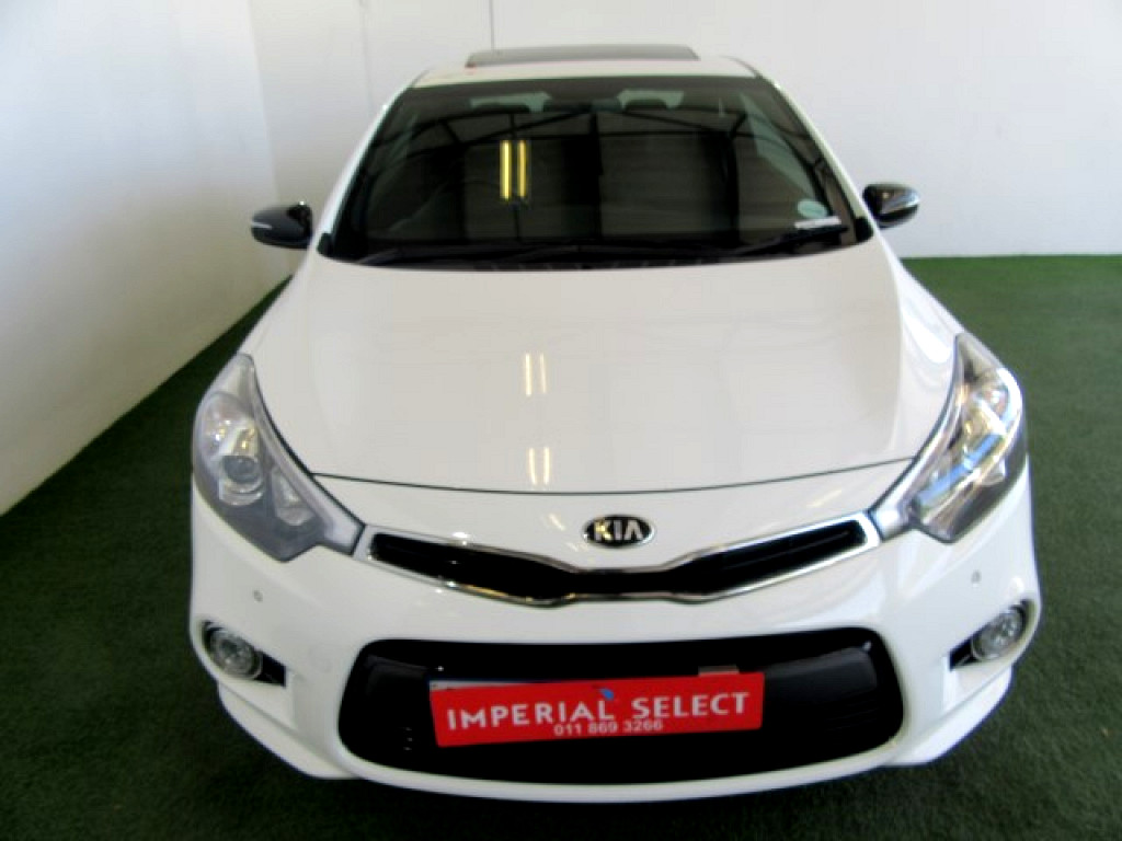 2014 KIA CERATO 1.6 KOUP T‑GDI AT SUNROOF