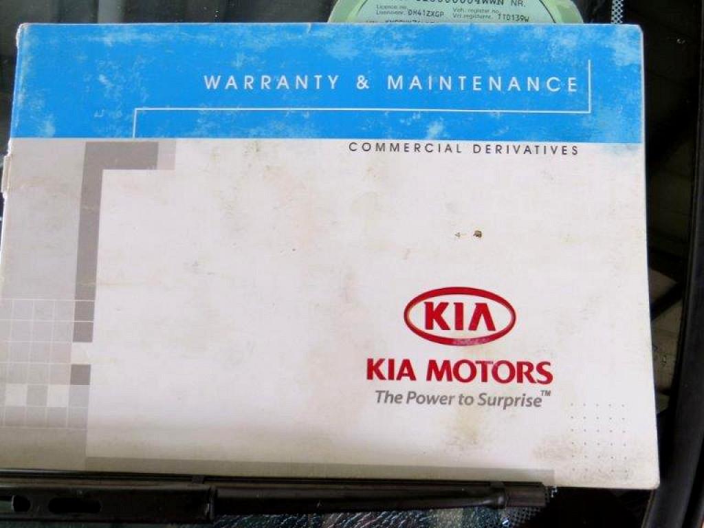 2014 KIA K2500 WORKHORSE DROPSIDE