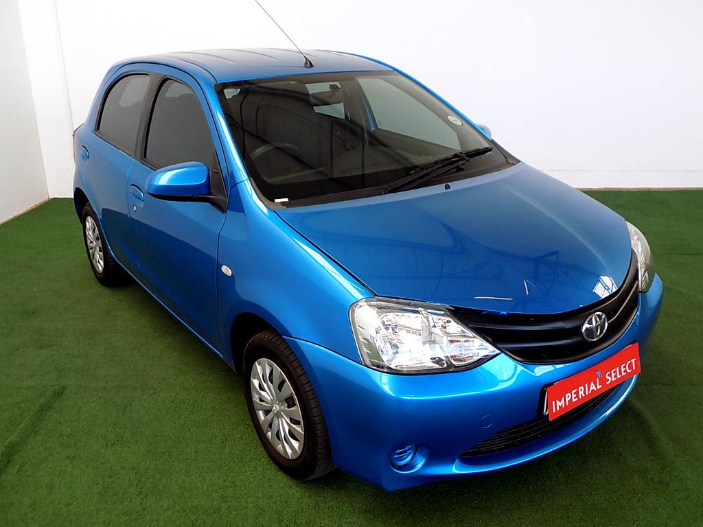 2016 Toyota Etios 1.5 Xi 5Dr