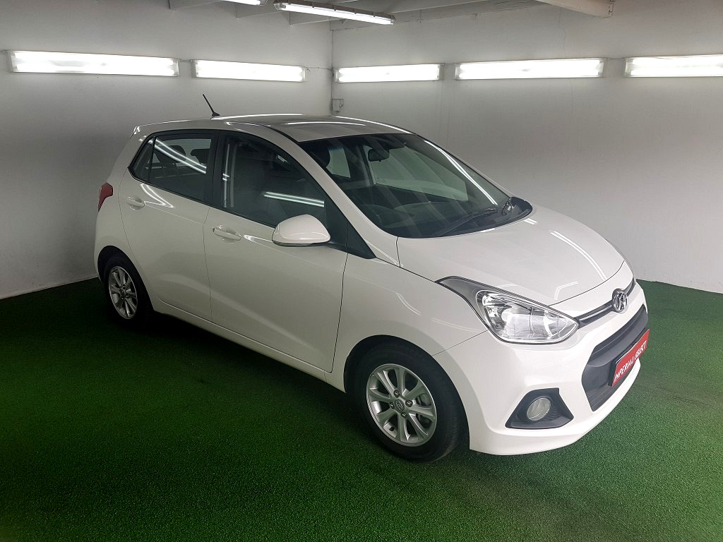 2016 Grand i10 1.25 Fluid M/T Red