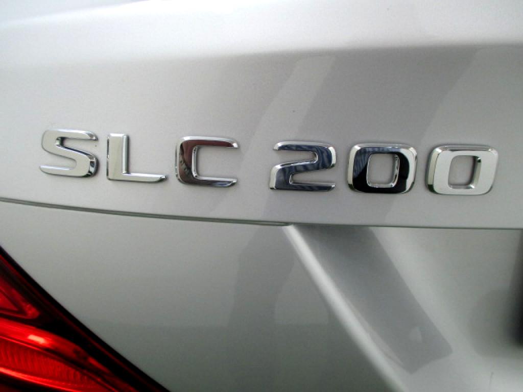 2017 MERCEDES SLK 2000 ‑ ON SLC 200 A/T