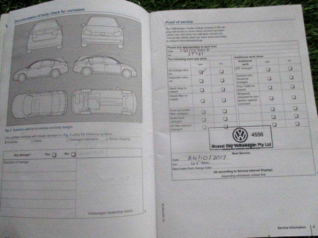 2015 VOLKSWAGEN POLO GP 1.2 TSI COMFORTLINE (66KW)