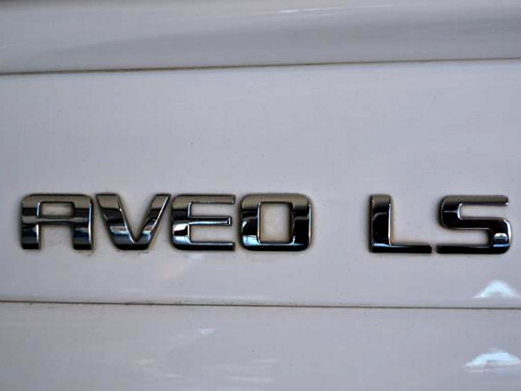 2015 CHEVROLET AVEO 1.6 LS 4‑DOOR AT