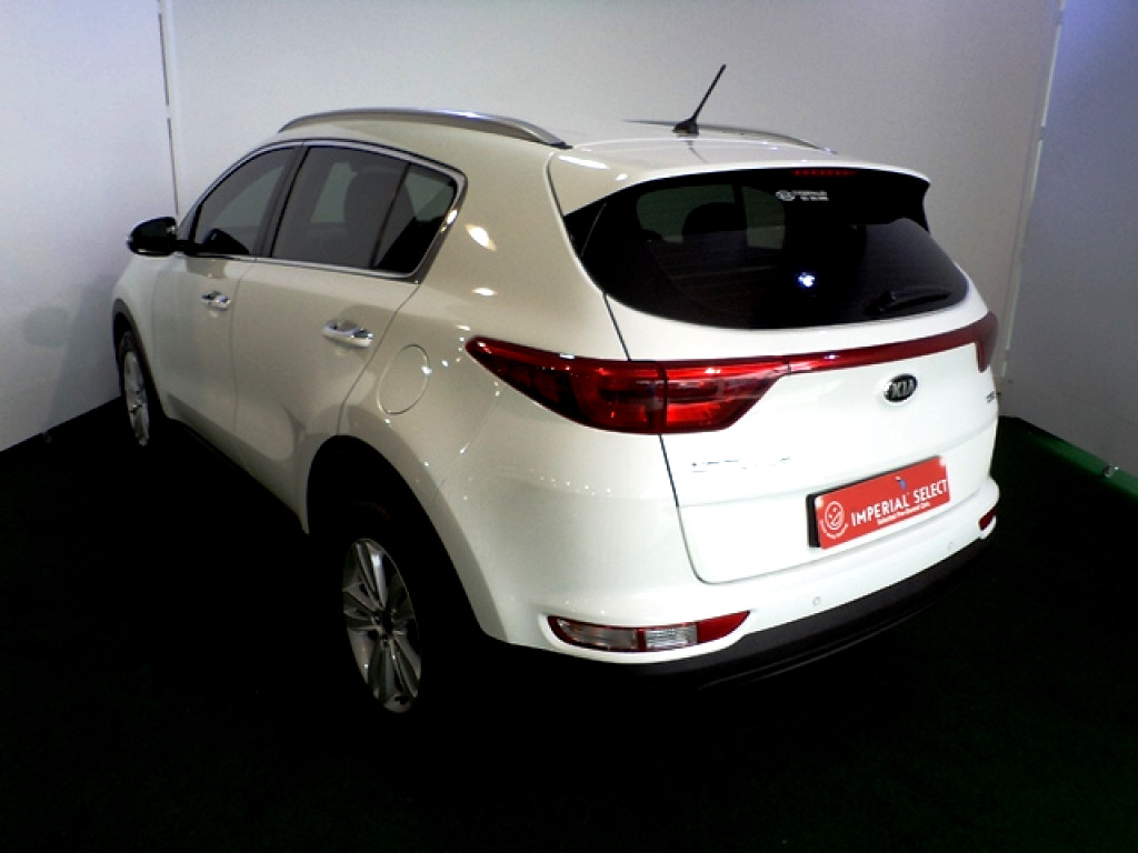 2018 SPORTAGE 2WD 2.0D AUTO EX