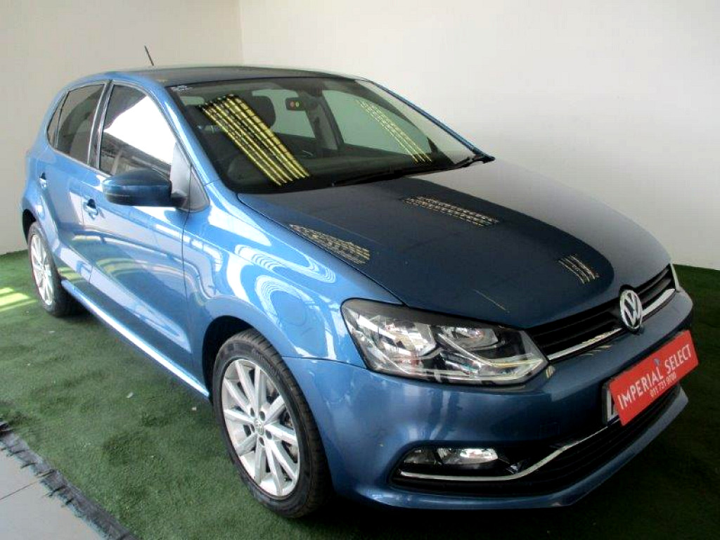 2016 volkswagen polo 1 2 tsi highline dsg at imperial select northcliff. Black Bedroom Furniture Sets. Home Design Ideas