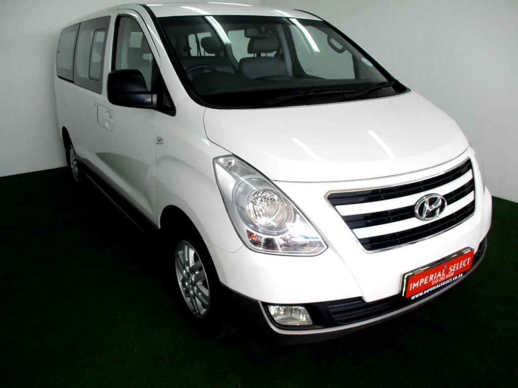 2016 H1 2.5 VGT 9 SEATER BUS A/T